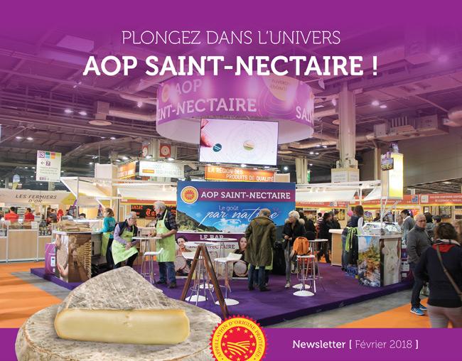 Plongez dans l'univers AOP Saint-Nectaire ! - Newsletter Février 2018