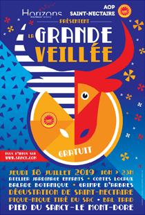 Événement - La grande veillée Horizons Sancy le 18 juillet 2019