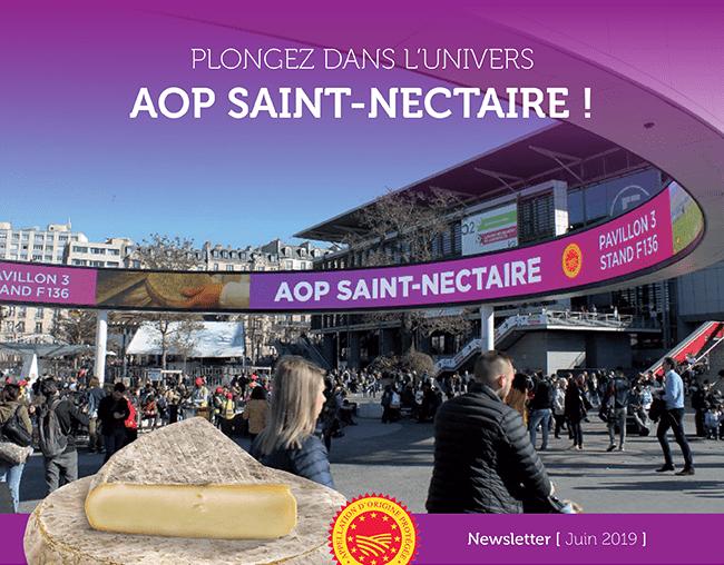 Plongez dans l'univers AOP Saint-Nectaire ! - Newsletter Juin 2019