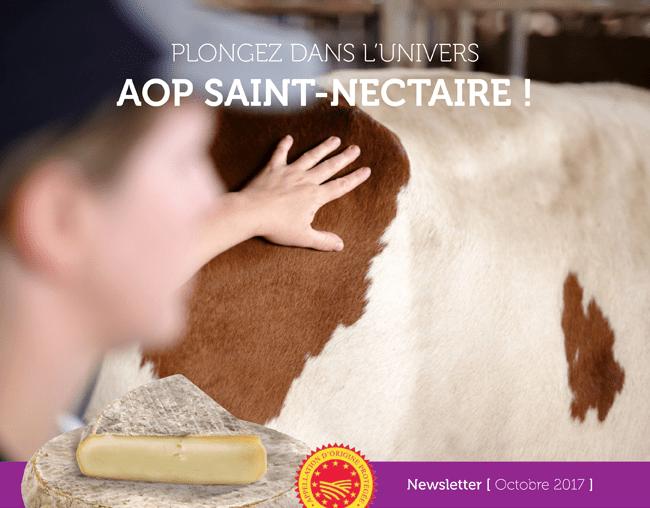 Plongez dans l'univers AOP Saint-Nectaire ! - Newsletter Octobre 2017