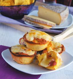 Mini-muffins au Saint-Nectaire